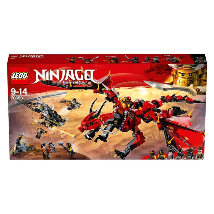 Lego Ninjago Mutter der Drachen 70653 Lego 74888660000018 Bild Nr. 1