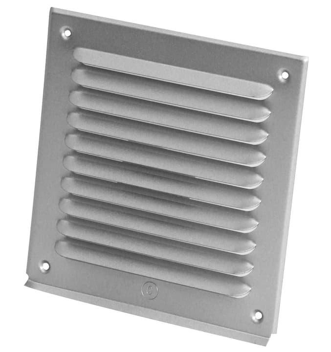 Griglia di aerazione senza zanzariera Suprex 678036100000 Colore Alluminio Annotazione 180 x 180 mm N. figura 1