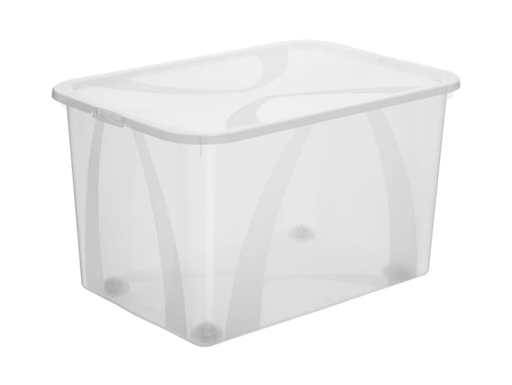 Arco Box 50L, transparent Rotho 603630700000 Taille L: 56.5 cm x L: 38.1 cm x H: 33.7 cm Couleur Transparent Photo no. 1