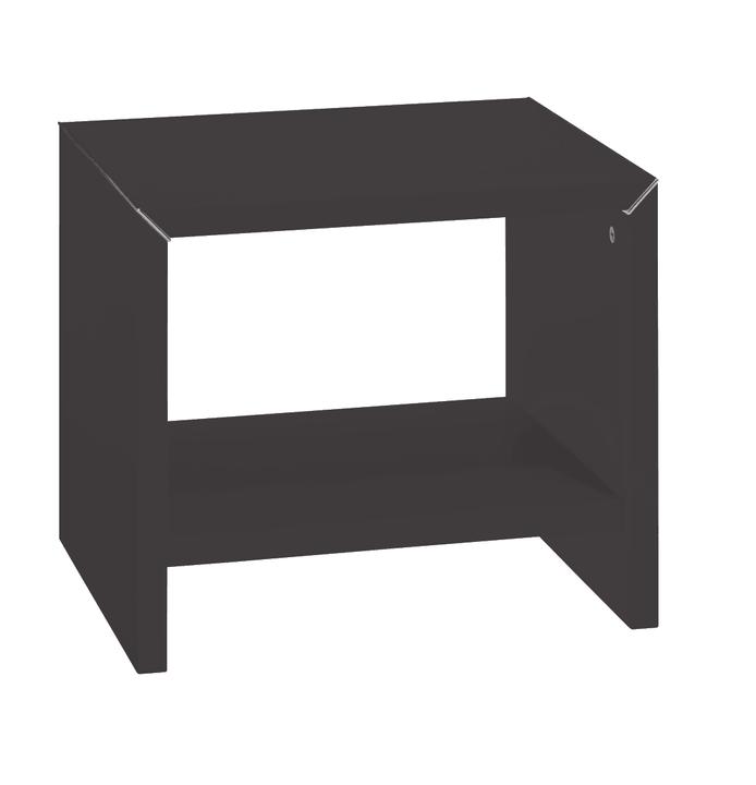 PERO Table de chevet HASENA 403128585270 Dimensions L: 45.0 cm x P: 35.0 cm x H: 38.0 cm Couleur Couleur wengé Photo no. 1