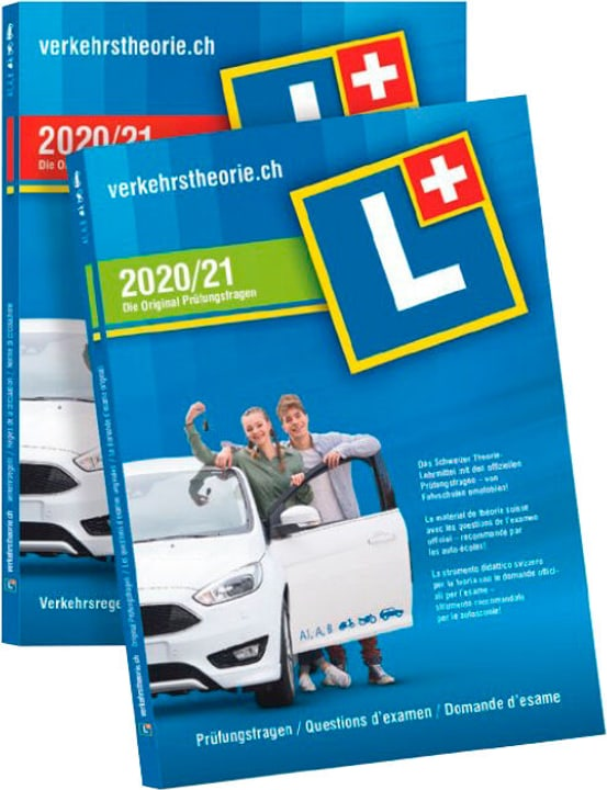 Livre d'apprentissage  2020/21 [Kat. A+B] (D/F/I) Livre d'apprentissage verkehrstheorie.ch 785300150603 Photo no. 1