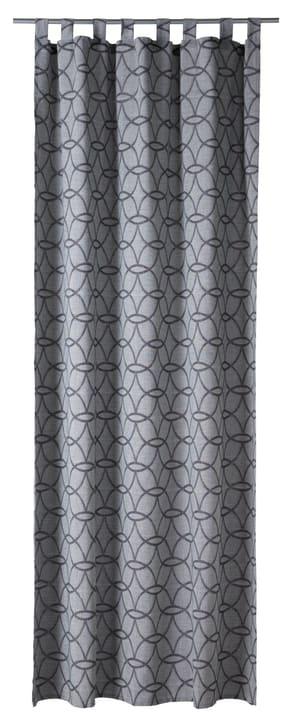 OPHELIA Nacht-Fertigvorhang 430265321880 Farbe Grau Grösse B: 150.0 cm x H: 260.0 cm Bild Nr. 1