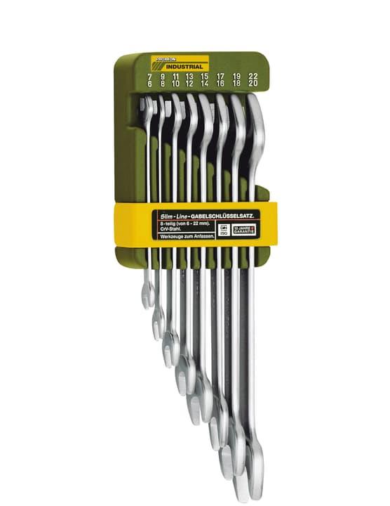 Clés - Jeu complet doubles à fourche 8 pce. 6 à 22 mm Proxxon 601464100000 Photo no. 1