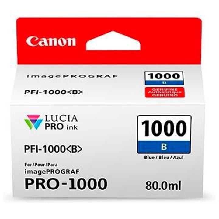 PFI-1000  bleu Cartouche d'encre Canon 785300126470 Photo no. 1