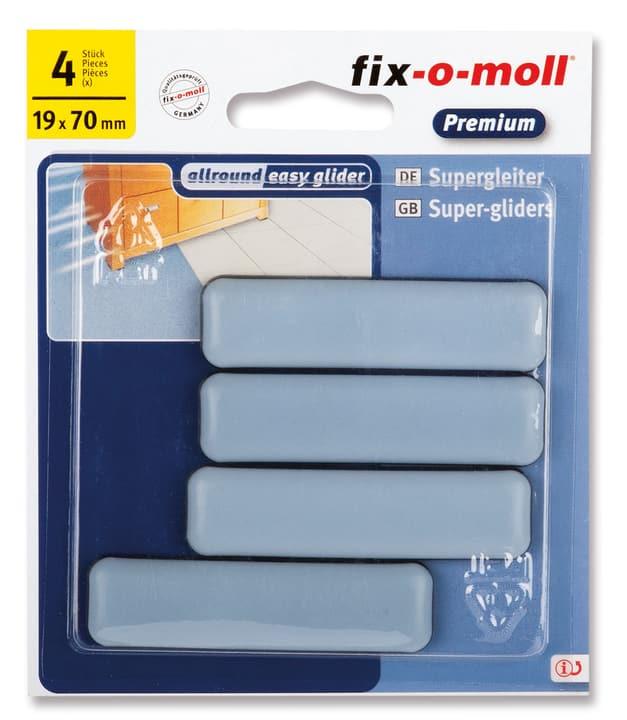 Universalgleiter 5 mm / 70 x 19 mm 4 x Fix-O-Moll 607078300000 Bild Nr. 1
