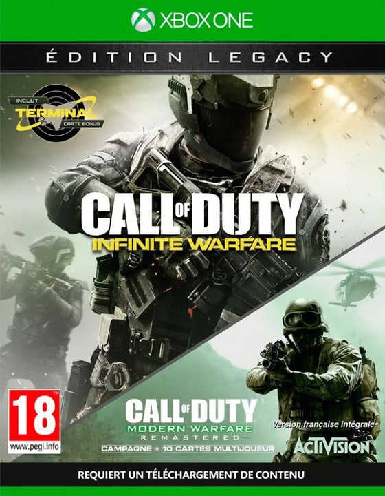 Xbox One - Call of Duty: Infinite Warfare - Legacy Edition Physique (Box) 785300122109 Photo no. 1