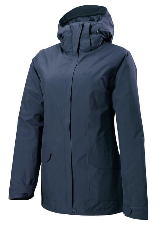 KIRUNA TRAIL JKT WOMEN Damen-Trekkingjacke Jack Wolfskin 462787300543 Farbe marine Grösse L Bild-Nr. 1
