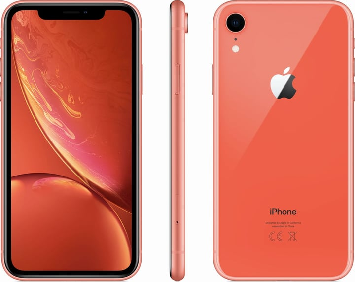 iPhone XR 64GB Coral Smartphone Apple 794635100000 Bild Nr. 1