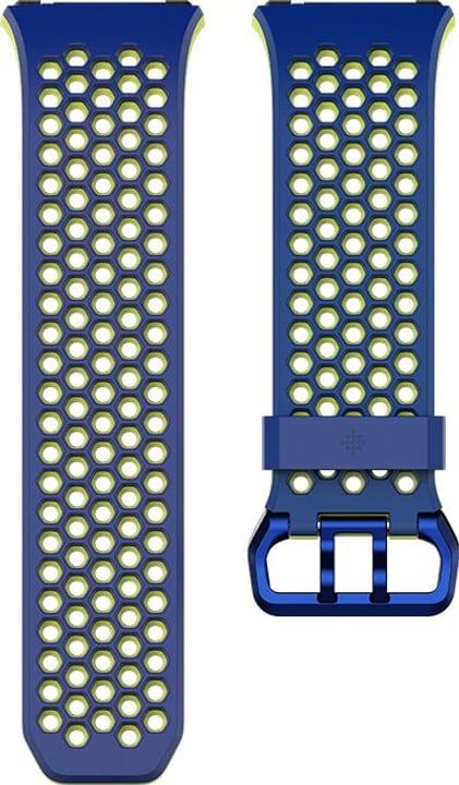 Ionic Cobalt / Vert citron - Boucle Sport Fitbit 785300131203 Photo no. 1