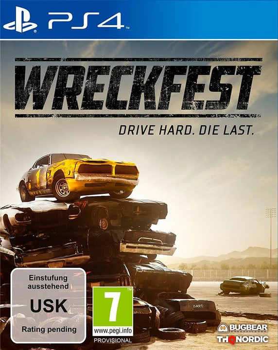 PS4 - Wreckfest Box 785300138592 Langue Allemand Plate-forme Sony PlayStation 4 Photo no. 1