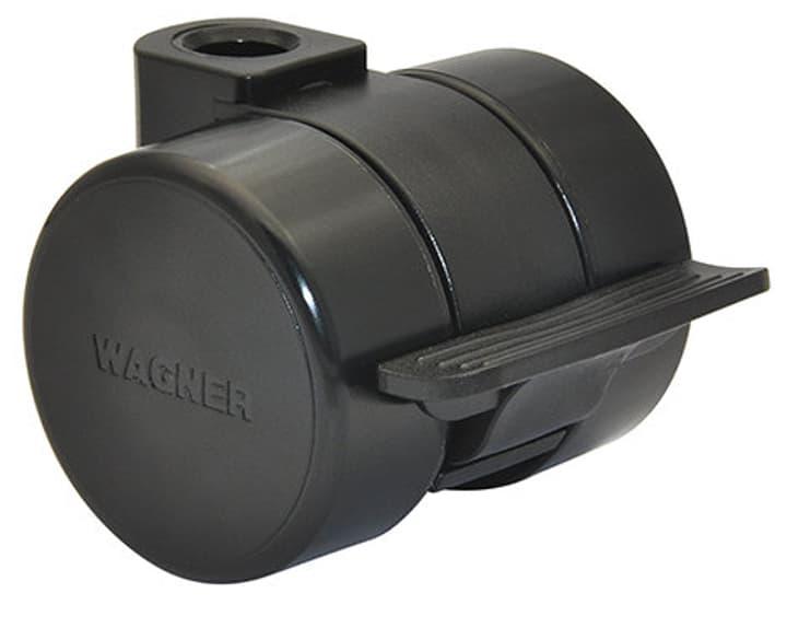 Ruota per mobili D37 mm con fermo Wagner System 606426900000 N. figura 1