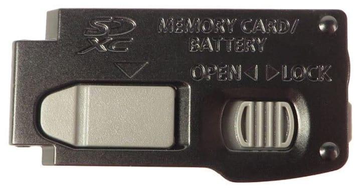 Coperchio scomparto pile Panasonic TZ20 9000031041 No. figura 1