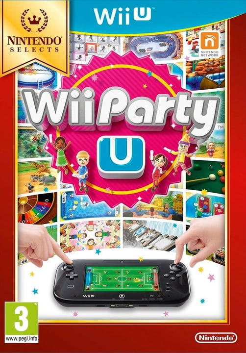 Wii U - Selects Wii Party U Physique (Box) 785300120992 Photo no. 1