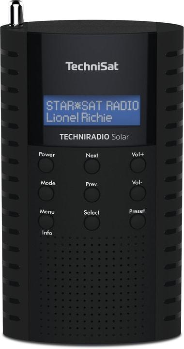 Techniradio Solar - Noir Radio DAB+ Technisat 785300149722 Photo no. 1