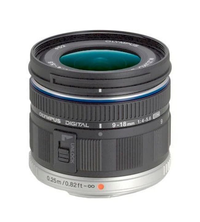 M.Zuiko DIGITAL ED 9-18mm f/4.0-5.6 Objectif Noir Olympus 785300125761 Photo no. 1