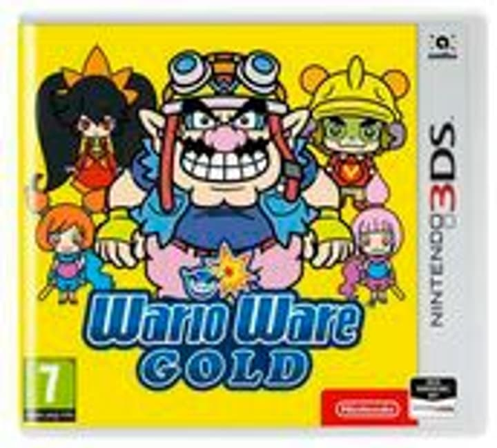 3DS - Wario Ware Gold F Box 785300133272 N. figura 1