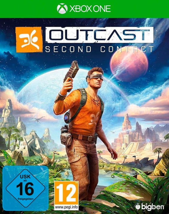 XBox One - Outcast - Second Contact Fisico (Box) 785300128880 N. figura 1