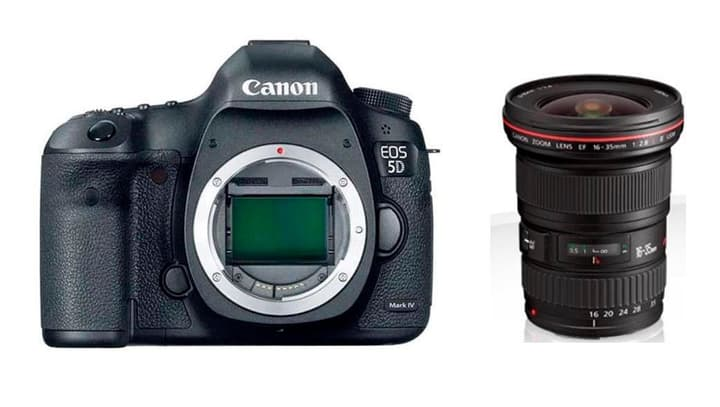 EOS 5D Mark IV + EF 16-35mm III 2.8L Kit appareil photo reflex Canon 785300126139 Photo no. 1