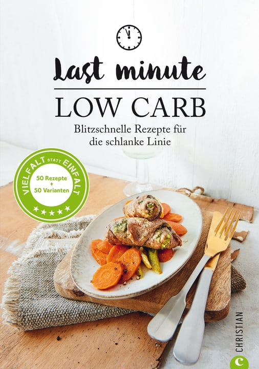 Last Minute Low Carb Buch 393237800000 Bild Nr. 1