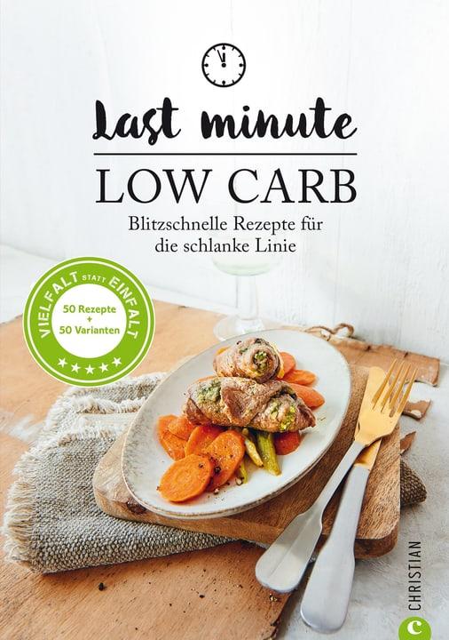 Last Minute Low Carb Livre 393237800000 Photo no. 1