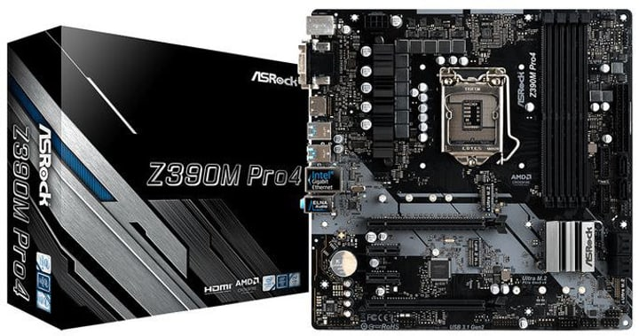 Z390M Pro4 Mainboard ASRock 785300148186 Photo no. 1
