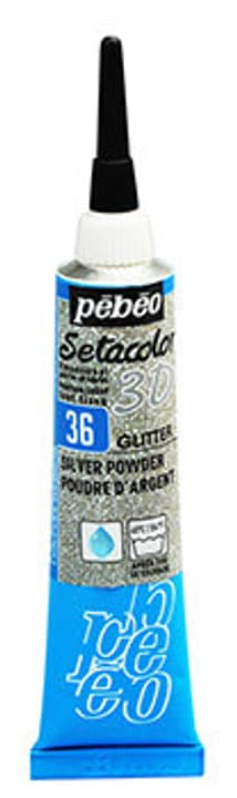 Sétacolor 3D 20ml Metal Pebeo 665469500000 Couleur Argent Photo no. 1