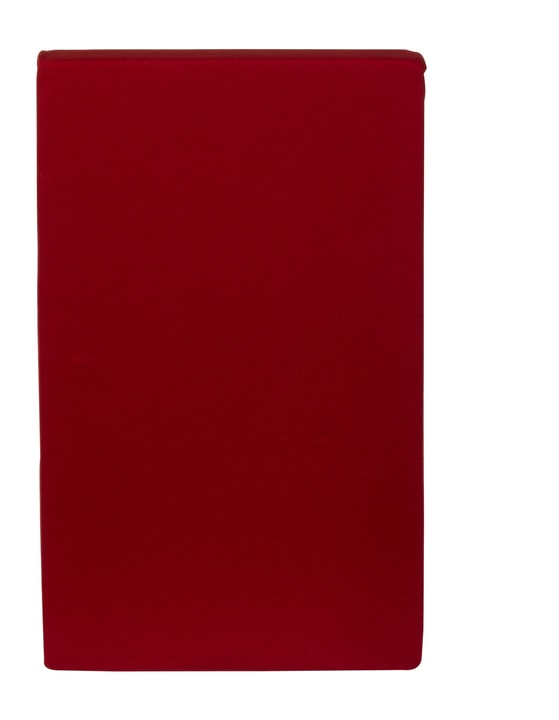 CARLOS Drap-housse en jersey 451033230330 Couleur Rouge Dimensions L: 90.0 cm x H: 200.0 cm Photo no. 1