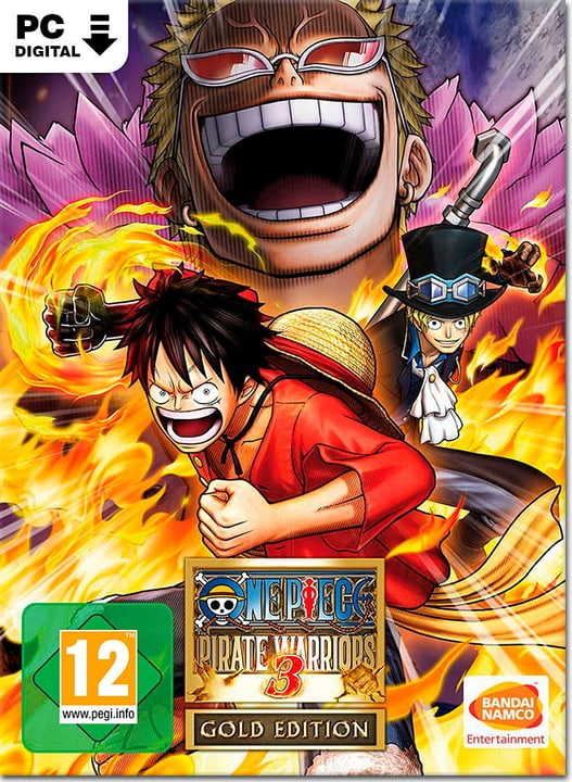 PC - One Piece: Pirate Warriors 3 - Gold Edition - D/F/I Download (ESD) 785300134383 N. figura 1