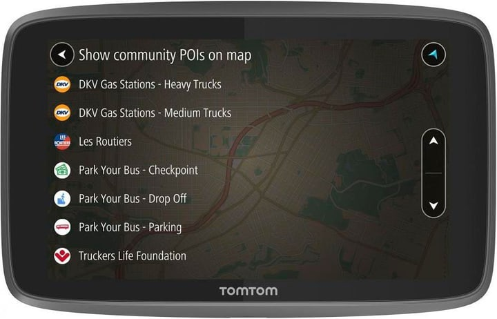 "GO Professional 620 EU 6"" noir GPS Auto TOMTOM 785300142106 Photo no. 1"