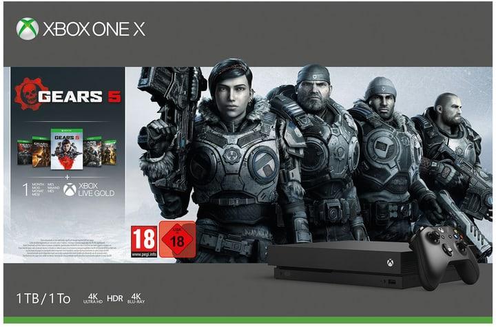 Xbox One X 1TB - Gears 5 Bundle Console de jeux vidéo Microsoft 785300146743 Photo no. 1