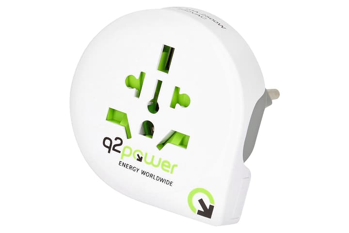Q2Power Reiseadapter Welt nach Schweiz 612153000000 Bild Nr. 1