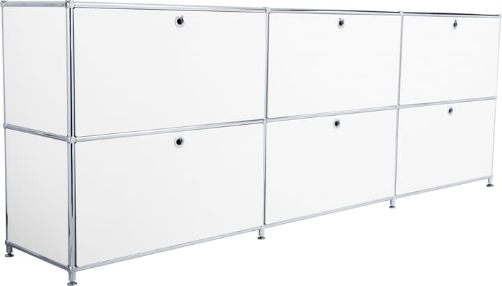 FLEXCUBE Buffet 401809700010 Dimensions L: 227.0 cm x P: 40.0 cm x H: 80.5 cm Couleur Blanc Photo no. 1
