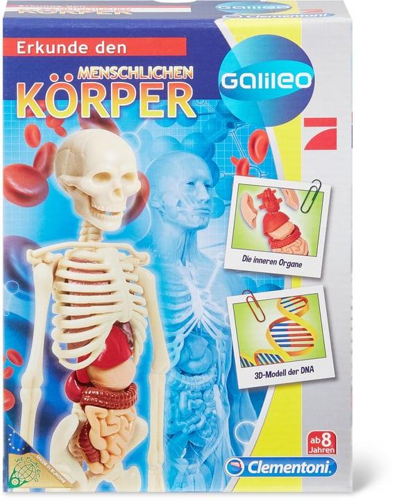 Galileo Der menschliche Körper /D) 748917690000 N. figura 1