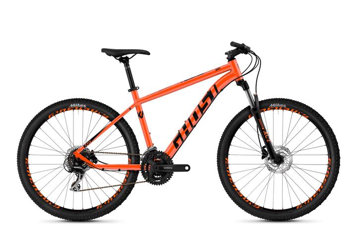 """Kato 2.7 27.5"""" mountain bike di tempo libero Ghost 464825200234 Colore arancio Dimensioni del telaio XS N. figura 1"""