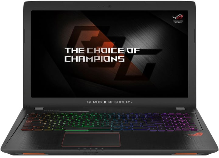 GL553VE-FY247T, Intel i7-7700HQ, W1 Ordinateur portable Asus 785300130611 Photo no. 1