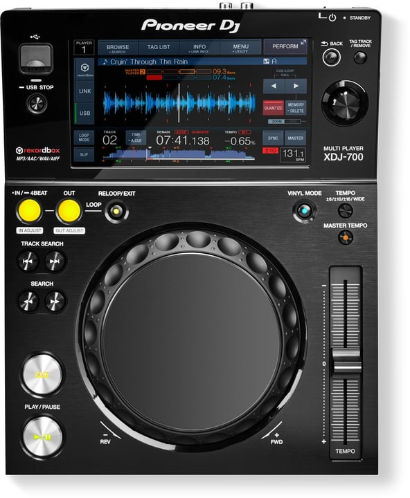 XDJ-700 Digitalplayer Pioneer DJ 785300134775 N. figura 1