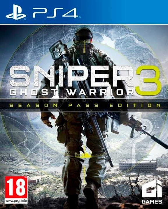PS4 - Sniper Ghost Warrior 3 Season Pass Edition 785300121917 Photo no. 1