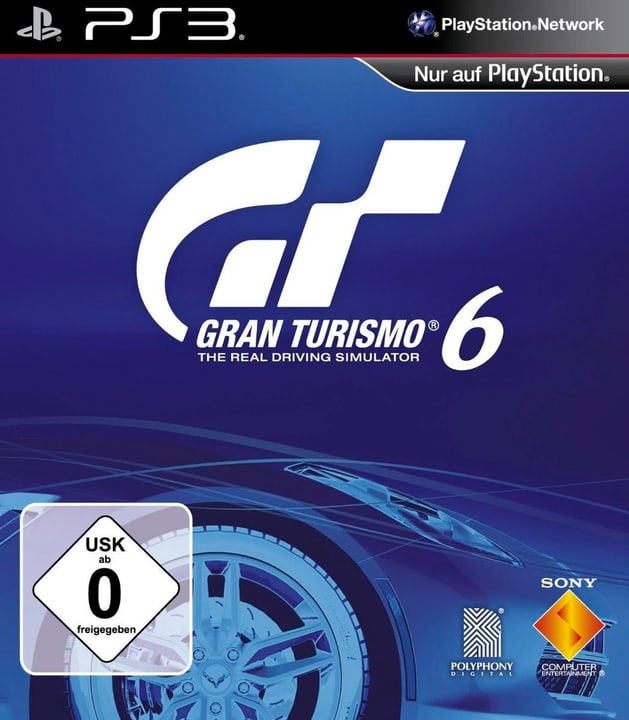PS3 - Gran Turismo 6 Box 785300121568 N. figura 1
