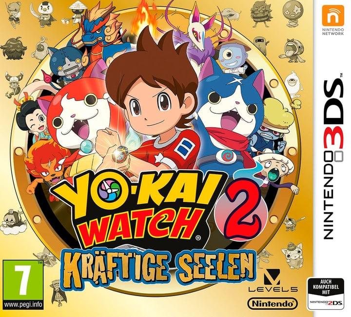 3DS - Yo-Kai Watch 2: Kräftige Seelen Physisch (Box) 785300122011 Bild Nr. 1