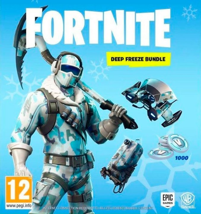 PC - Fortnite - Deep Freeze Bundle  D/F Box 785300139980 Photo no. 1
