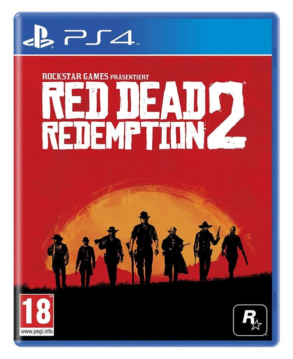 PS4 - Red Dead Redemption 2 Box 785300128543 Langue Allemand Plate-forme Sony PlayStation 4 Photo no. 1