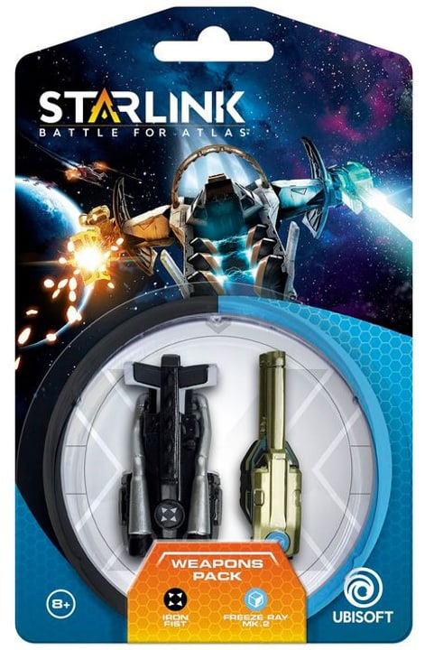 Starlink Weapon Pack - Iron Fist & Freeze Ray Physique (Box) 785300139082 Photo no. 1