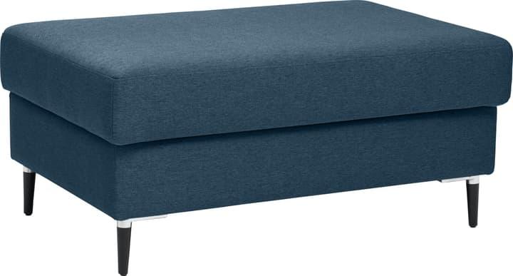 DIENER Pouf 407426400000 Couleur Bleu Dimensions L: 100.0 cm x P: 64.0 cm x H: 45.0 cm Photo no. 1