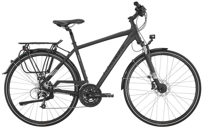 Quest Vélo de trekking Crosswave 464803805086 Couleur antracite Tailles du cadre 50 Photo no. 1