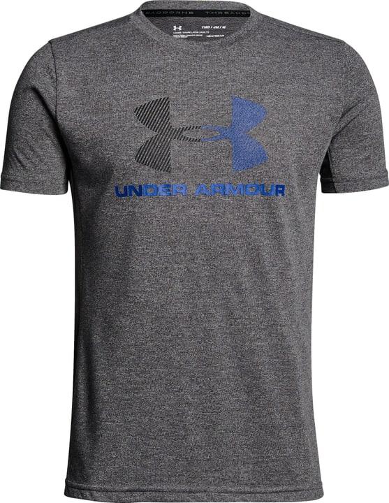 Combo Logo SS T T-shirt pour garçon Under Armour 464544612880 Couleur gris Taille 128 Photo no. 1