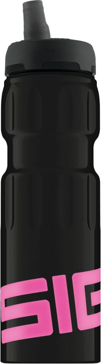 NAT SPORTS 0.75L BLACK PINK Borraccia Sigg 470276000000 N. figura 1