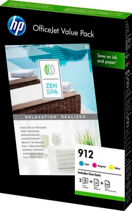 Valuepack 912 OfficeJet Set carta/inchiostro HP 785300146504 N. figura 1