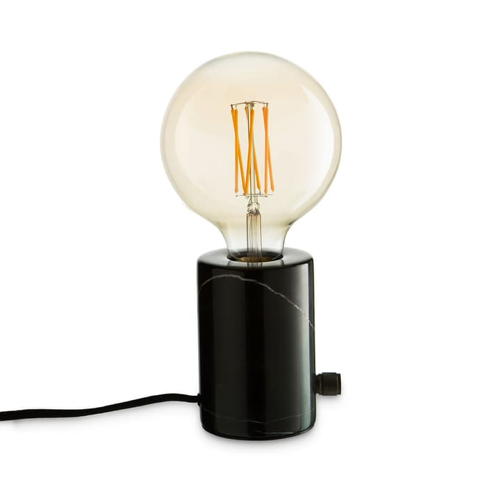 ORBIS Lampe de table 380042500000 Dimensions L: 12.5 cm x P: 12.5 cm x H: 26.0 cm Couleur Noir Photo no. 1