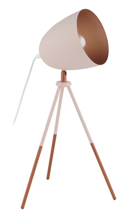 CHESTER Lampe de table 421231300000 Dimensions L: 29.0 cm x P: 29.0 cm x H: 44.0 cm Couleur Rose Photo no. 1