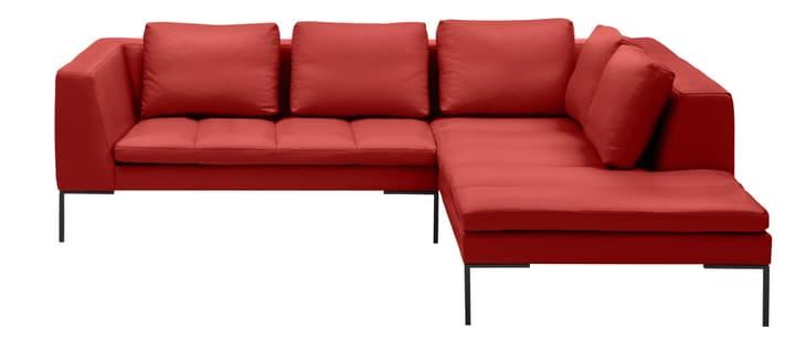 BADER Ecksofa 405686150430 Grösse B: 255.0 cm x T: 230.0 cm x H: 80.0 cm Farbe Rot Bild Nr. 1